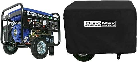 DuroMax Hybrid Dual Fuel XP4400EH 4,400-Watt Portable Generator New(Bundle)