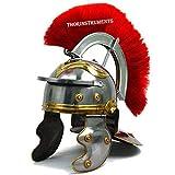 THORINSTRUMENTS - Casco histórico de Centurion para oficiales romanos (18 g, acero)