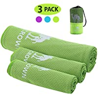 3-Pack Camel Crown Cooling Towels