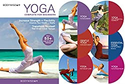 cheap Yoga Deluxe 6 DVD Set for Beginners: 8 videos including yoga practice for beginners. Includes gentle yoga …