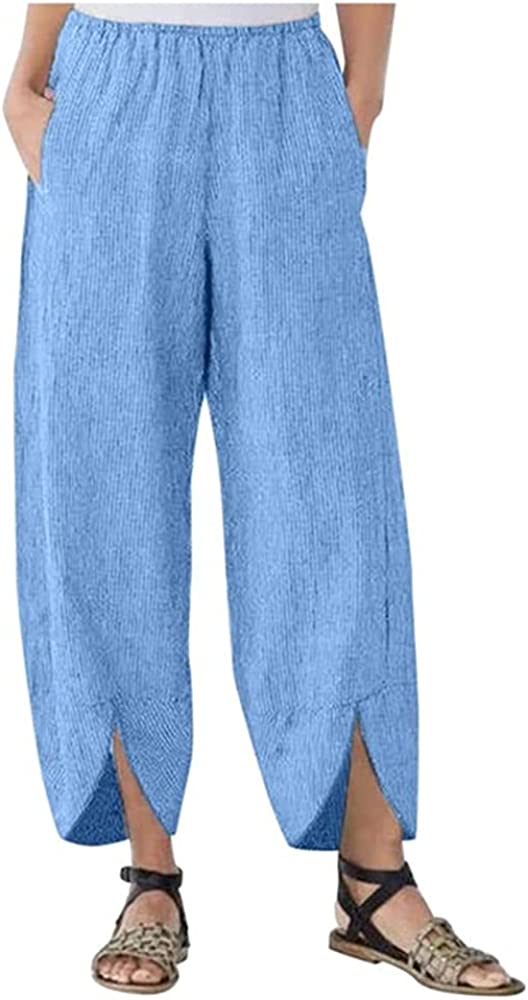 NP Casual Straight Loose Pants Women Summer Women's Wide Leg Pants with Female