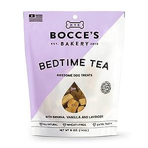 Bocce'S Bakery Bedtime Tea Biscuits Bag Dog Treat, 5 Oz