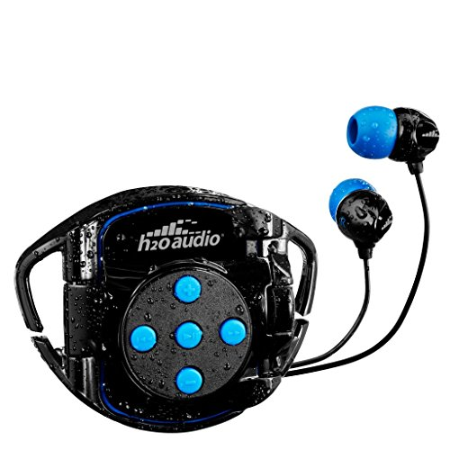 H2O Audio 100% Waterproof Headphones & Waterproof iPod Shuffle Case Swim Solution, Superior Sound and Construction Includes 1 Year Warranty