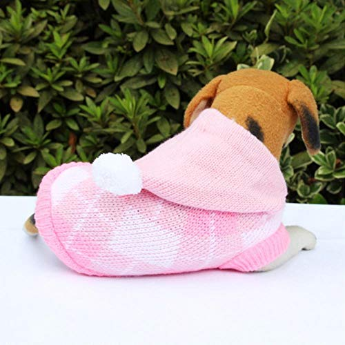 NYRAO Winter verdicken Hund Kleidung für Haustier Katzen Hunde Kleidung Kostüm für Hunde Pyjama Mantel Weihnachten Haustier Kleidung Hoodies Chihuahua,Football,12