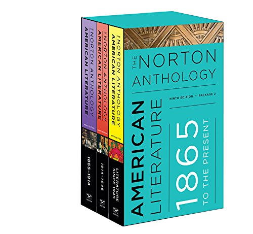 The Norton Anthology of American Literature (Norton Anthology of American...