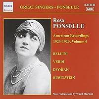 Ponselle: American Recordings 1923-1927 Vol. 4 (2007-10-25)