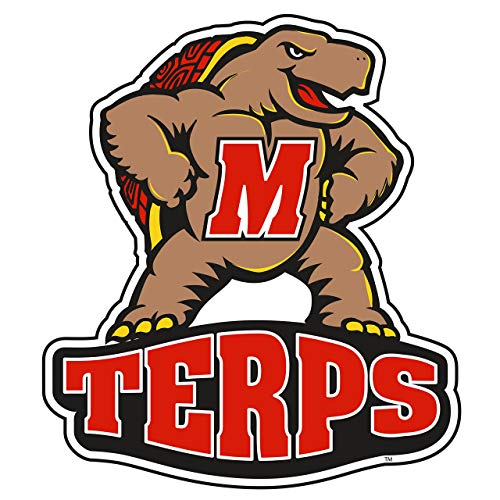 """Craftique Maryland Decal (REF M Terps Decal (4""""), 4"""")"""