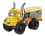 Cars The Movie Vehículo acuático Miss Fritter, 28 cm (Mattel DXW13)