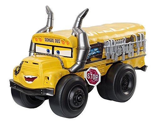 Cars Vehículo acuático Miss Fritter, 28 cm (Mattel DXW13)