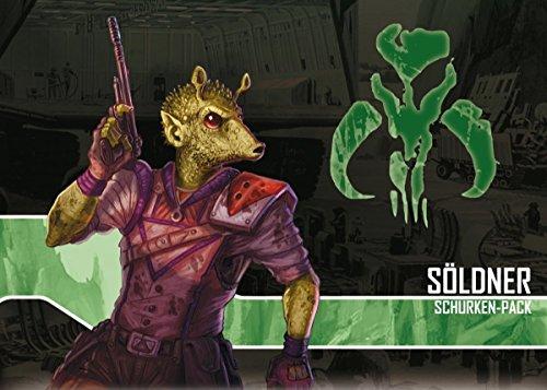 Asmodee FFGD4520 Star Wars: Imperial Assault-Söldner Schurken-Pack, Spiel