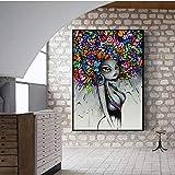 fdgdfgd Moderne Street Art Wandbilder für Wohnzimmer Poster und Drucke Graffiti Art Leinwanddrucke Leinwandbilder Home Wall Decor