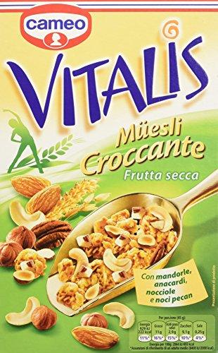 Cameo Vitalis Muesli Croccante con Frutta Secca, 300g