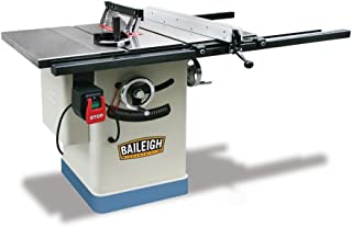 Baileigh TS-1040E-30 Entry Level Cabinet Style Table Saw, 40