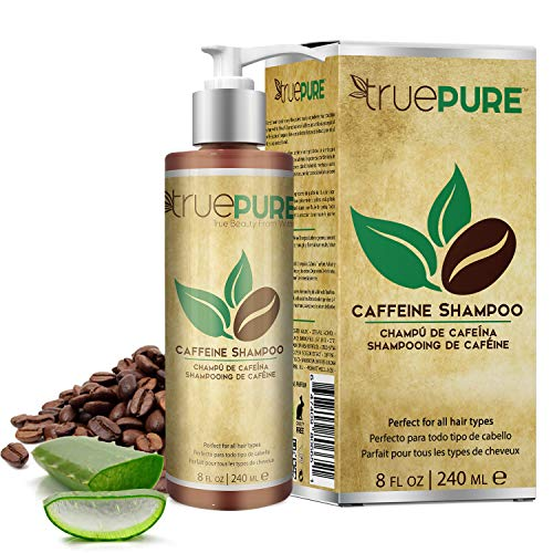 TruePure Natural Caffeine Shampoo | Fragrance Free & Sulfate Free Treatment For Healthy Hair Growth...