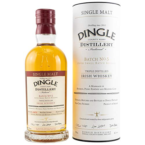 Dingle Single Malt Irish Whiskey Batch No. 5 Whisky (1 x 0.7 l)