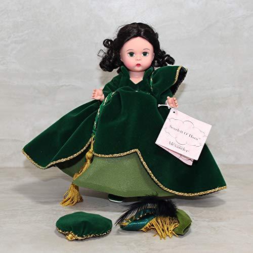 Madame Alexander Green Velvet Scarlett Doll