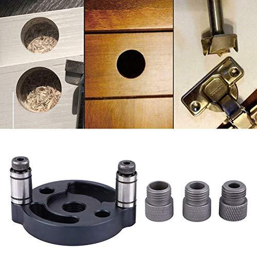 Gaten zoeken, 6 mm 8 mm 10 mm plugapparaat houten plaat puncher gatenboorinstructies Locator houtbewerkingsgereedschap