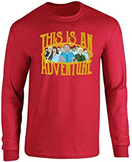 This is an Adventure Minimalist Long Sleeve T-Shirt