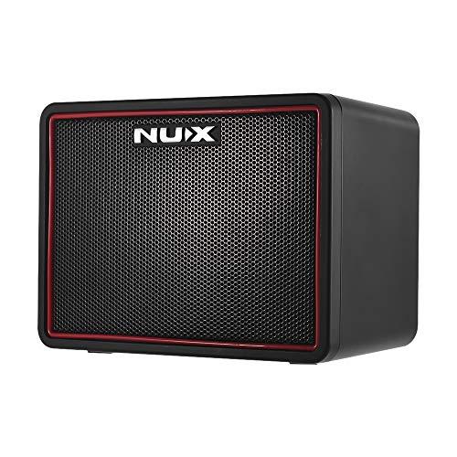 NUX Mighty Lite Amplificador de Guitarra Eléctrica de Escritorio BT Mini Amplificador 3W 3 Canales Efectos de Reverberación de Retardo Incorporados