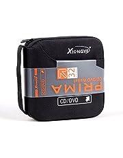 Nuevo 32disco CD DVD portátil tipo cartera de almacenamiento organizador titular caso Bolsa Caja de álbum