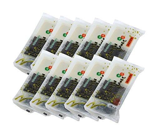 大覚総本舗 白・黒ごま豆腐 高野山 ゴマ豆腐 胡麻豆腐 100g(2個入り)10袋セット kt-10