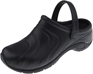 Baoblaze Lightweight Work Clogs for Women Men - Chef Clogs Non Slip - Open Back Nursing Clogs - Slip On