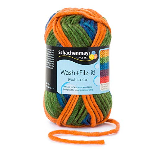 Schachenmayr Filzgarne Wash+Filz-it! Multicolor, 50g Exotic Stripes