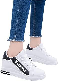 ACHICOO Ladies Fashion Casual Internal High Heel Sports Sneakers
