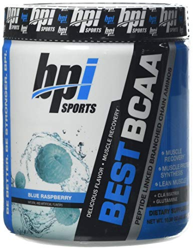 Bpi Sports Best BCAA Supplement, Blue Raspberry
