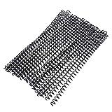 Anillos De Encuadernación De Plástico De Hoja Suelta De 30 Unids De 30 Pccs Anillos De Espiral De Resorte para Papel A4 11 Mm Encuadernación Negra Anillo De Espiral