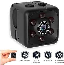 Mini Hidden Spy Camera for Home Office Security Camera Action| Small car Security Camera | Baby Nanny Cam | Full 1080p Night Vision Motion Sensor Light Indoor