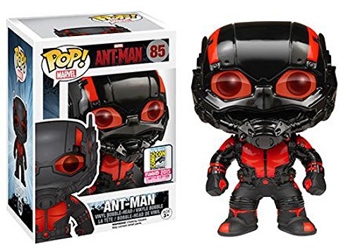 Funko POP Marvel: Black Out Ant-Man Action Figure
