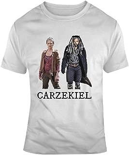 Carzekiel The Walking Dead T-Shirt Carol and King Ezekiel Love Affair AMC Tv Tee