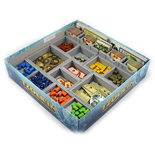 Folded Space Tzolkin Tribes and Prophecies and Expansions Board Game Box Inserts