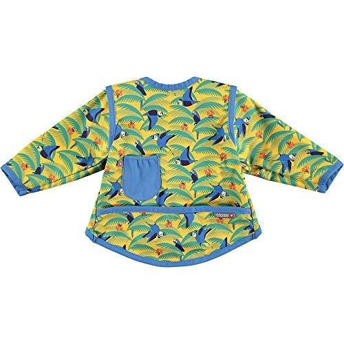 Close Pop-In Babero Impermeable, Multicolor (Parrot), Talla 4 (18-36 Meses)