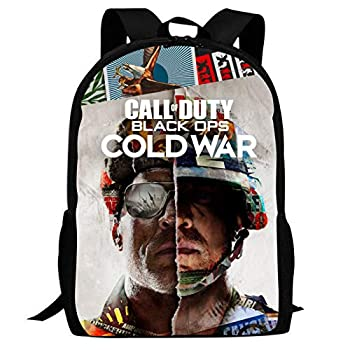 PINttyone Unisex School Bags Satchel Call-of-Duty Cold-War Laptop Backpack Shoulder Daypack for Student Office Travel