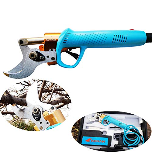 Best Price Electric pruning shears professional garden 4cm electric scissors fruit tree pruning shea...