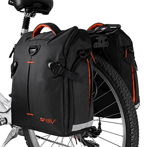 BV Bike Panniers Bags (Pair), Large Capacity 14