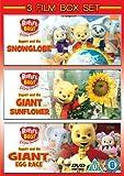 Rupert The Bear: Snowglobe/Giant Egg Race/Giant Sunflower [DVD]