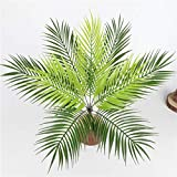 Homyl Grün Kokosnuss Palmblätter Kunstblätter Deko Künstliche Blätter - 3 - 9