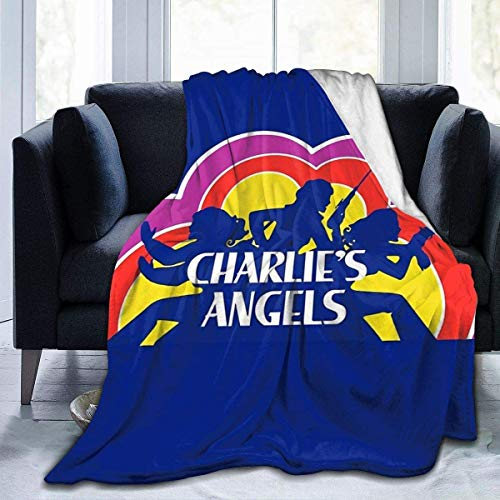 Manta de forro polar Softan Charlie's Angels Throw Blanket cálida Cozy Blanket para niños, niñas y adultos, impresión 3D Fashion Print perfecta para sofá, cama, todas las estaciones, 60 x 50 cm