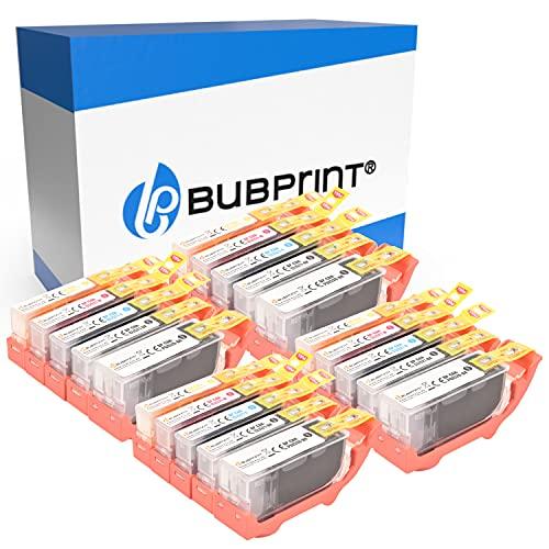 20 Bubprint Cartuchos de Tinta Compatible para Canon PGI-520 CLI-521 para Pixma IP3600 IP4600 IP4700 MP540 MP550 MP560 MP620 MP630 MP640 MP980 MX860 MX870