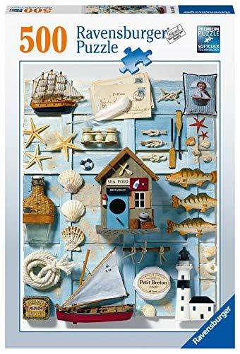Ravensburger Puzzle, Puzzle 500 Pezzi, Spirito Marittimo, Puzzle per Adulti, Jigsaw Puzzle, Stampa di Qualità, 16588 9