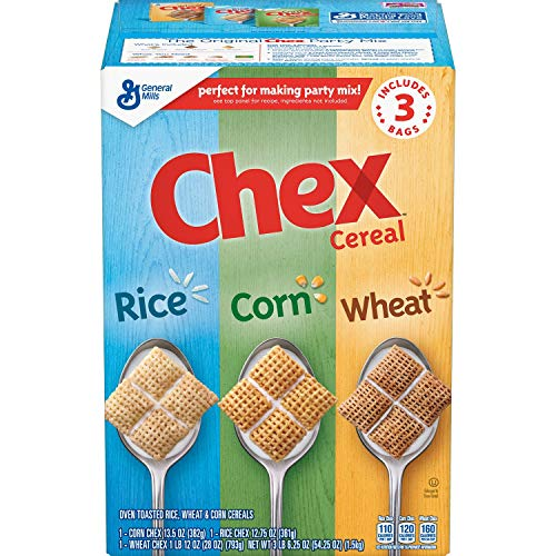 Chex Mix Triple Chex Rice, Wheat and Corn, 3 Pound