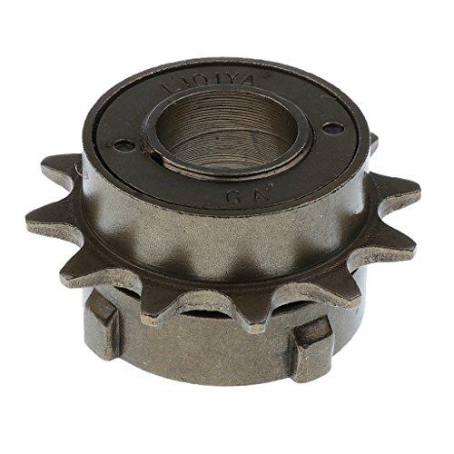 Metall 12 Zähne Single-Speed Fahrrad Freilauf- Zahnkranz Ritzel, 34mm Zahnrad Kassette
