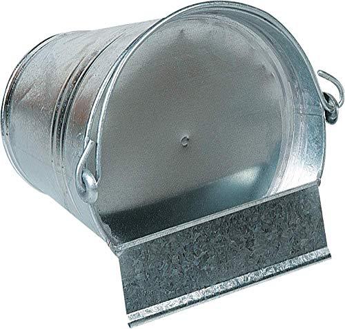 12 litros de agua potable de barriles de pollo poultry cubos de ave potable abrevadero para las aves de corral, gallinas, gansos y pavos,Metallic