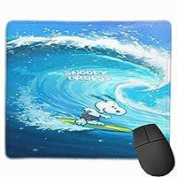 小型 スヌーピー Snoopy マウスパッド ミニマウスパッド ミニサイズ 耐久性 滑り止め オフィス ゲーム かわいい 多機能 アニメ キャラクター グッズ 幅25×縦30cm
