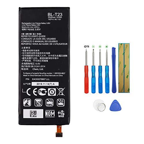 Swark Batería de repuesto BL-T23 compatible con LG X Cam X-Cam K580 K580Y F690 K580DS con herramientas