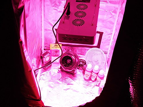 LED Grow Tent Kit - Complete LED Indoor Growing System