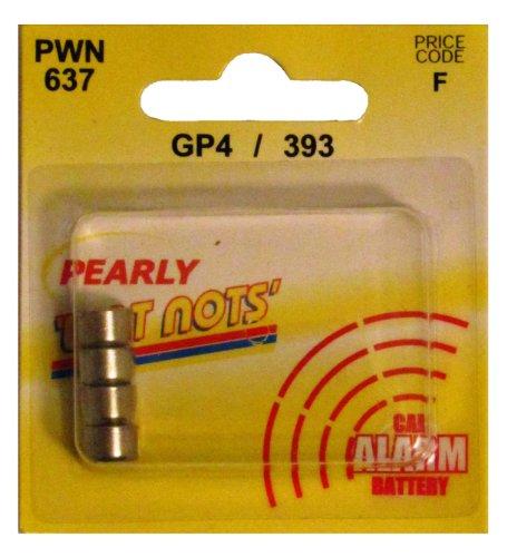 Pearl PWN637 GP4/393 Batterie für Auto-Alarmanlage